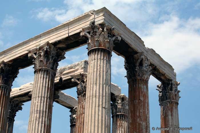 Ворота недалеко от храма Зевса
