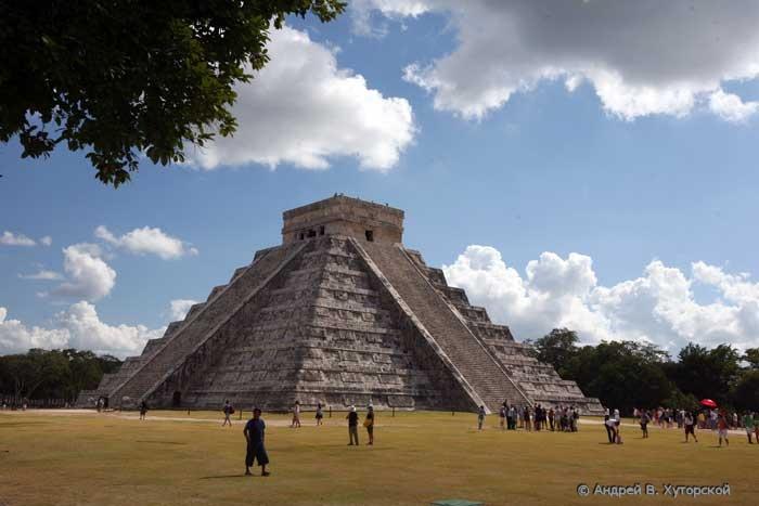 Пирамиды майя где находятся