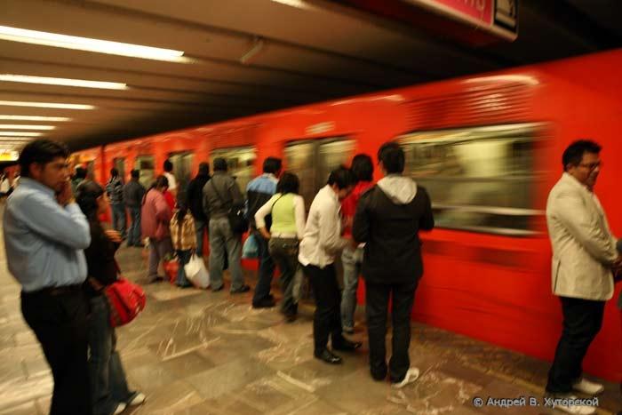 Схемы станций метро в Мехико
